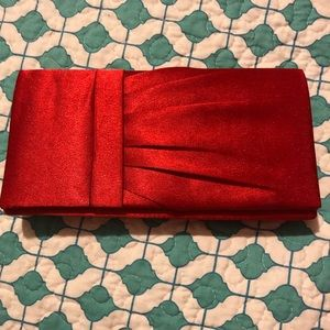 Red Dressy Clutch